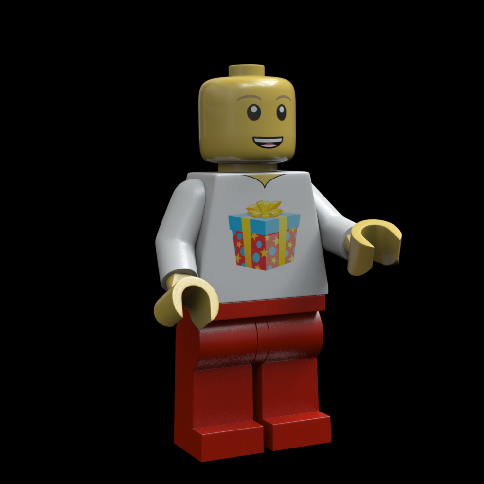 Base Minifig render
